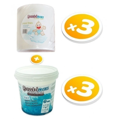Pack consommables lessives + voiles de protection Bambinex