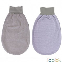 Gigoteuse bébé bleu / gris