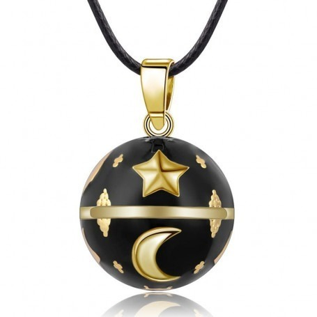 Bola de Grossesse Lune / étoile Or