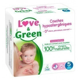 Love & green - 40 Couches (T5) - 12/25kg