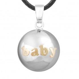 Bola de Grossesse Silver Baby doré