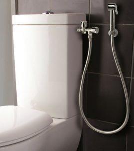 couche lavable et douchette wc