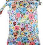 Accessoires couches lavables : le sac étanche idéal pour stocker les couches sales