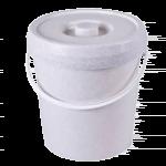 Accessoires couches lavables : le seau avec couvercle pour stocker les couches sales sans odeurs
