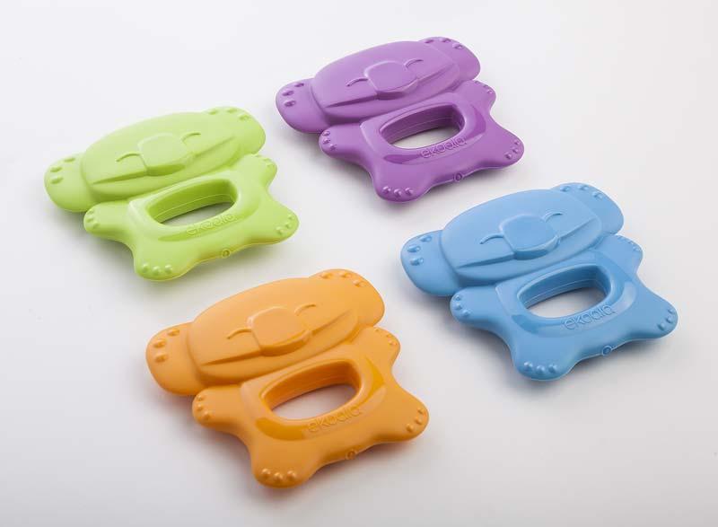 Anneaux de dentition en bioplastique éco-responsables
