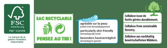 Couche jetable certifiée bio et écologique