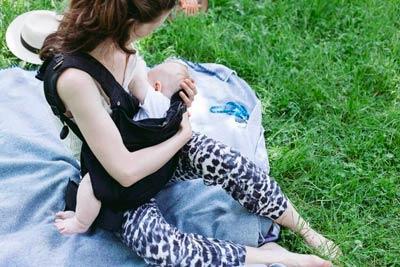 Porte bébé allaitement